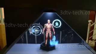 hologram pyramid 3d