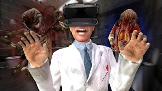 WE TRIED GARRY'S MOD HORROR MAPS IN VR - Garry's Mod Virtual Reality