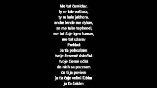 Jan Bendig- Me tut užarav, text/preklad
