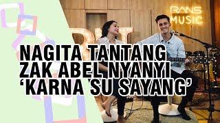 Undang Penyanyi Asal Inggris Zak Abel ke Rans Music, Nagita Ajaknya Bernyanyi 'Karna Su Sayang'