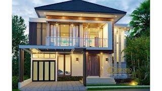 Video Desain Rumah Modern 2 Lantai Ibu Andika di  BSD, Tangerang, Banten