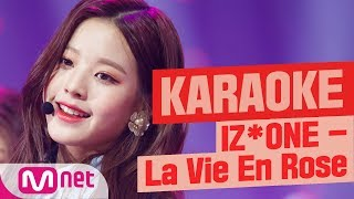 [MSG Karaoke] IZ*ONE - La Vie en Rose