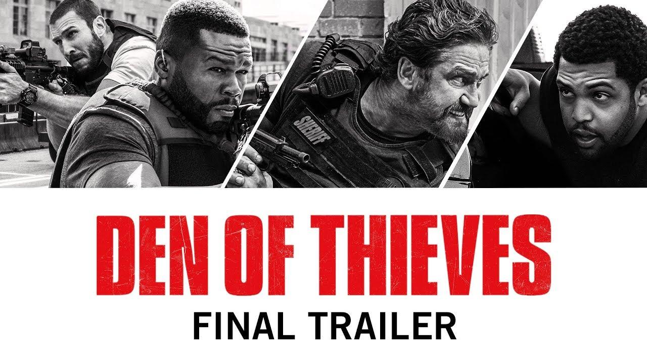 Trailer för Den of Thieves