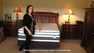 Hear Rebecca's First Impression of her Serta iSeries Honoree Super Pillow Top Mattress