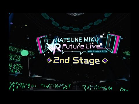 Hatsune Miku: VR Future Live - 20 Minute 2nd Stage Playthrough [PS4] thumbnail