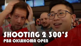 I BOWLED MY FIRST AND SECOND PBA 300 GAME | PBA Oklahoma Open Vlog #10