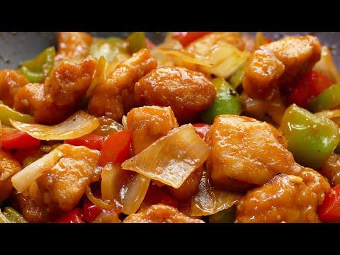 Pollo Agridulce Estilo CHINO - Recetas faciles y rapidas