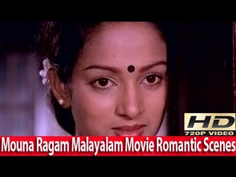 Hrudhaya Sarovaram Unarnoo...Romantic Song - Mouna Ragam Malayalam Movie 1983 [HD]