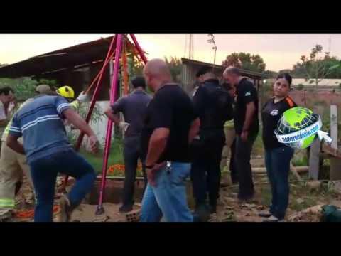 HOMEM É BRUTALMENTE ASSASSINADO E JOGADO DENTRO DE FOSSE NA ZONA LESTE DA CAPITAL