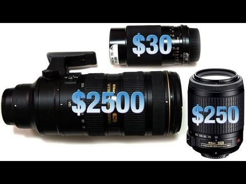Portrait Lens shoot out! - used vs budget vs prestige