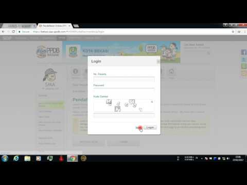 Video Cara Daftar PPDB Online Kota Bekasi