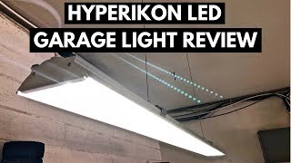 Hyperikon LED Garage Light Review And Installation