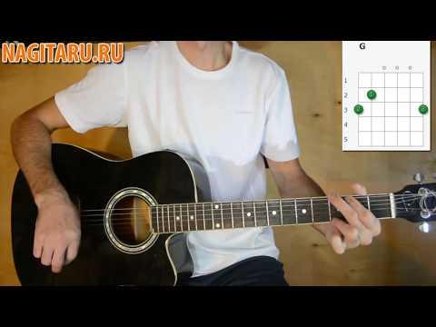 Как играть  Нервы - Самый дорогой человек - Разбор на гитаре