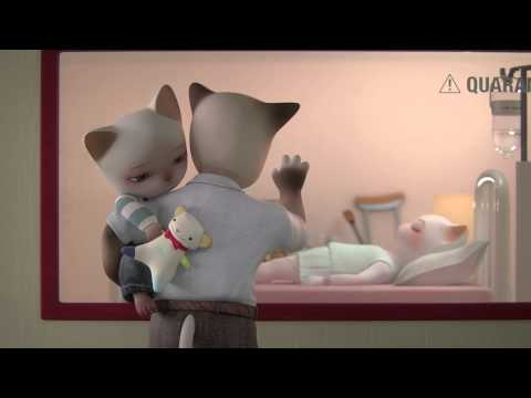Trois Petits Chats [3D animated short film]