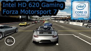 Intel HD 620 Gaming - Forza Motorsport 7 - i3-7100U, i5-7200U, i7-7500U, Kaby Lake