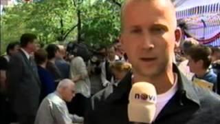 Vstup ČR do Evropské unie reportáž (EU) TV NOVA 30.4.2004