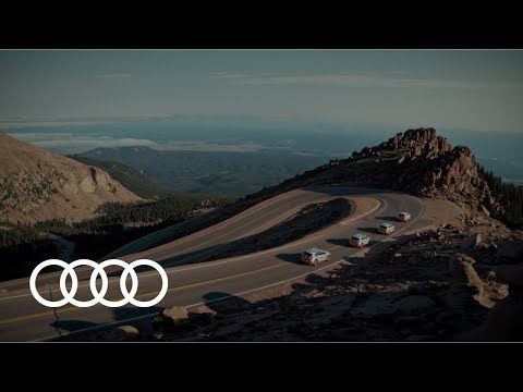Efficiency redefined – the Audi e-tron-prototype at Pikes Peak