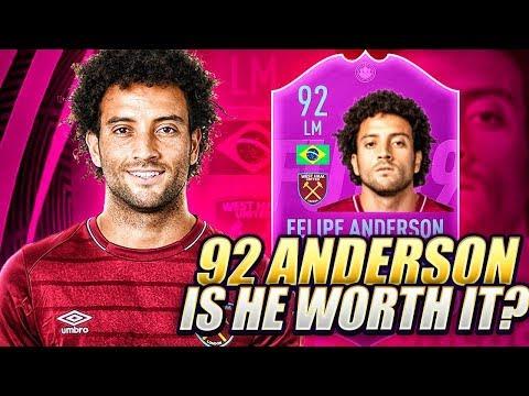 HOW GOOD IS 92 FELIPE ANDERSON?! LEAGUE SBC WORTH IT? FIFA 19 Ultimate Team