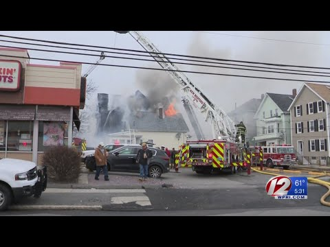 Multiple homes destroyed in New Bedford fire