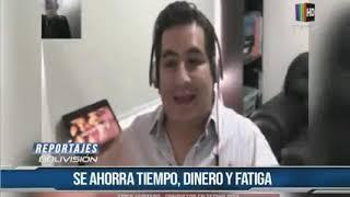 REPORTAJE DE LA RED BOLIVISIÓN SOBRE EL TELETRABAJO