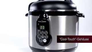 Мультиварка Profi Cook PC-DDK 1048 Германия - видео 1