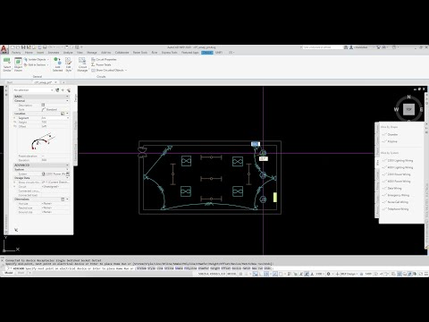 Getting Started with Electrical Wiring in the AutoCAD MEP Toolset ...