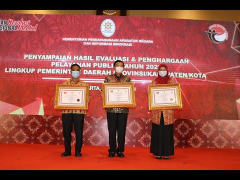Hattrick, Pemko Pekanbaru Raih Penghargaan Pelayanan Prima Nasional