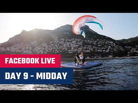 Facebook LIVE: Day 10 - Chrigel Maurer's float landing in Monaco - Red Bull X-Alps 2019