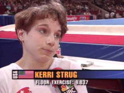 Kerri Strug - Interview - 1996 McDonald's American Cup