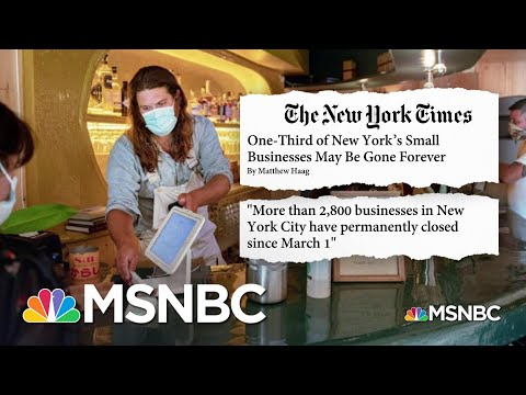 Restaurant Industry Fighting For Survival Amid The Pandemic | Stephanie Ruhle | MSNBC