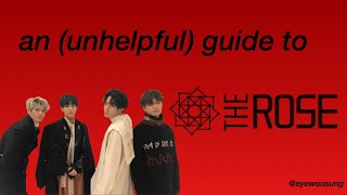 The Rose An Unhelpful Guide (2019)