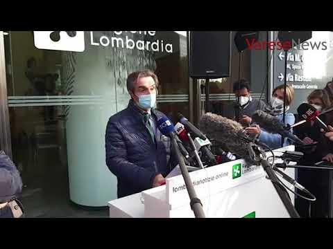 """Fontana: """"Lombardia tutta in zona rossa, prime deroghe solo fra 2 settimane"""""""