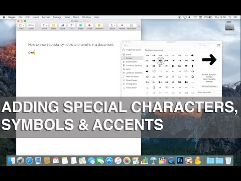 , title : 'How to use special characters, symbols, emojis and accents on Mac - Apple Training'