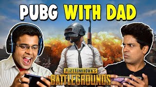 WHEN YOU PLAY PUBG WITH DAD | The Half-Ticket Shows
