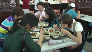 Video : China : The ShangHai 上海 World Expo food court