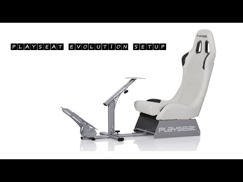 PLAYSEAT Evolution Gaming Chair SETUP AND REVIEW