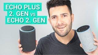 Amazon Echo Plus 2 vs.  Echo 2 im Test & Vergleich - Das leisten die Speaker im Sound-Check!