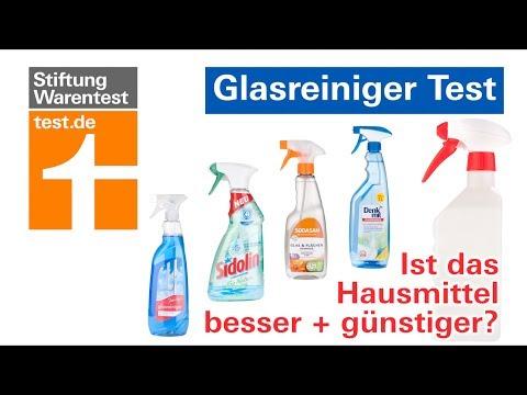 Glasreiniger Test: Hausmittel & Glasreiniger im Vergleich