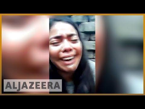 🇳🇮 Nicaragua unrest: Student protester livestreams attack | Al Jazeera English