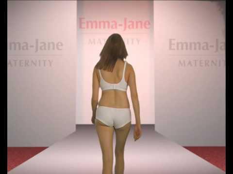 Emma Jane бюстгальтер для кормления чёрный