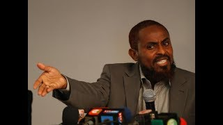 Abduba Dida: Why should there be only two presidential candidates? It is not a rerun!