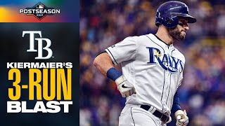 Rays' Kevin Kiermaier opens up ALDS Game 3 with HUGE 3-run shot vs. Astros! | ALDS Highlights