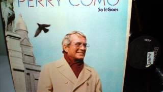 Perry Como You Are So Beautiful So It Goes RCA 1983 Dennis Wilson Billy Preston (Joe Cocker)