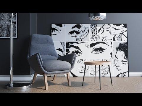 3dsmax Modern Interior Rendering (Best Photorealistic Tutorial)