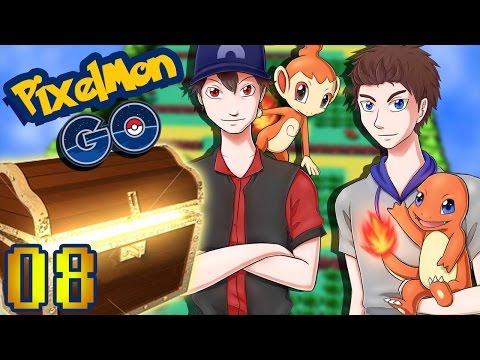 Minecraft Walkthrough Pixelmon Go 06 Le Faux Mélodelfe
