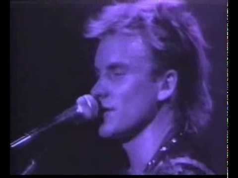 Sting & Police - King Of Pain (Live)