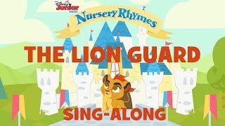 Sing-Alongs With Lion Guard! 🦁 | 🎶 Disney Junior Music Nursery Rhymes | Disney Junior