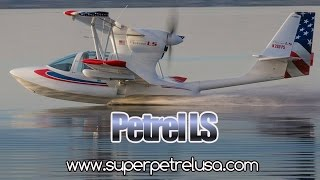 Super Petrel LS amphibious light sport aircraft bi-plane from Edra Aeronautica.