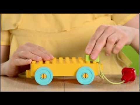LEGO® DUPLO® Кубики и колесики для строительства 10554