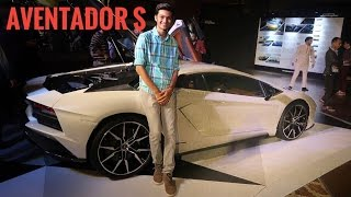 Indian Kid Takes Ferrari 458 Italia to Lamborghini Aventador S Launch |Supercar Vlog India
